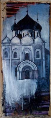 Les Larmes de Souzdal, 105 x 270 cm, huile sur toile
