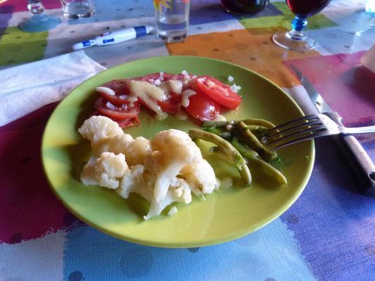Vorspeise ---- gesund muss es sein für die Pilger