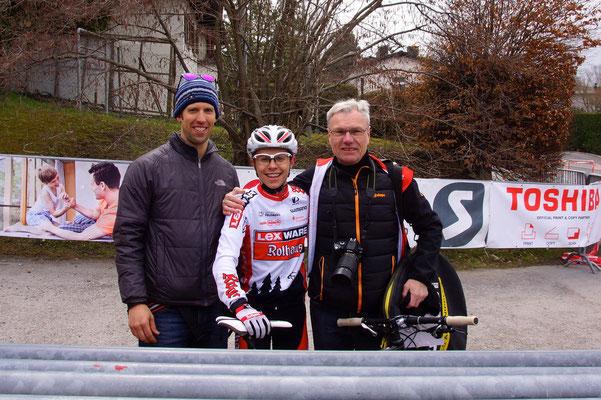 Andy Gilgen, Tim Meier, Toni Uecker     ©Gilgen