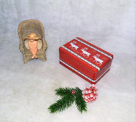 """Weihnachtsdose """"Rentier"""""""
