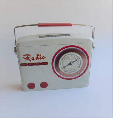 Radiodose oben zu öffnen