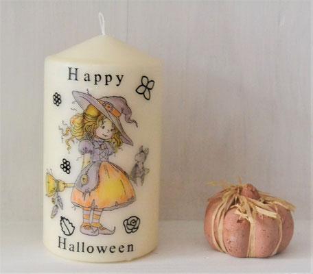 Kerze Happy Halloween