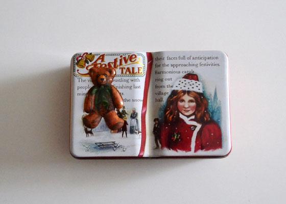Buchdose Weihnachten klein