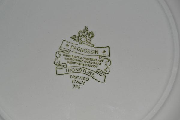 Teeservice grau-braun aus Italien