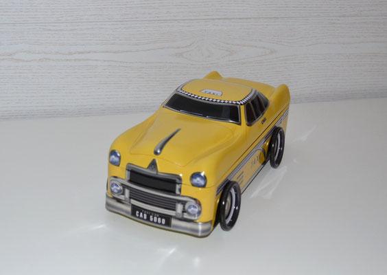 Dose in Form eines ameriknischen Taxis