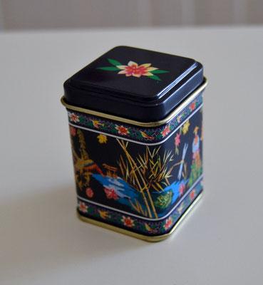 Kleine Teedosen, ideal als Gastgeschenk
