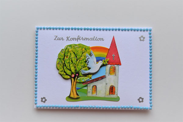 Kuvert für Geldgeschenke zur Konfirmation