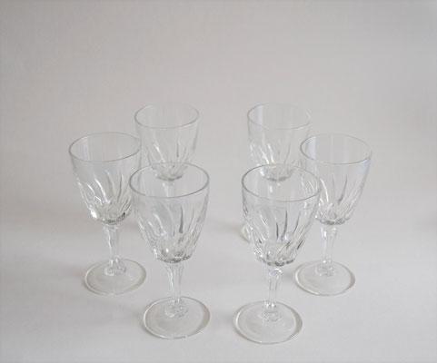 Likörflasche mit 6 Gläsern