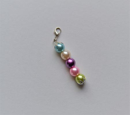 Perlenanhänger 5 Farben