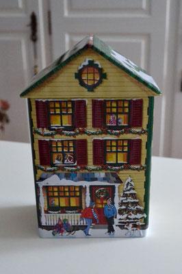 Weihnachtshaus grün