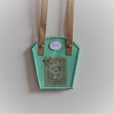 Pflanzen-Tasche klein mint