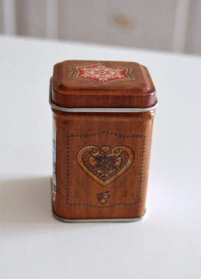 Teedose Alpenchic für 25 g Tee
