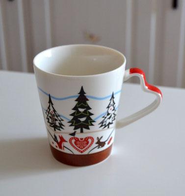 Porzellan-Tasse Alpenchic
