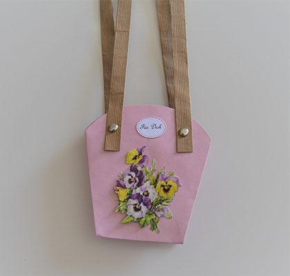 Pflanzen-Tasche klein flieder