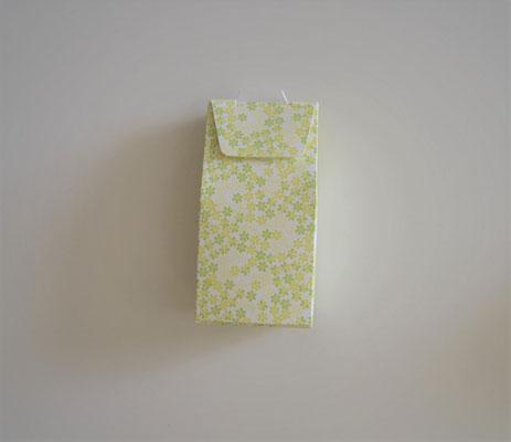Hemdbox klein gelb-grün