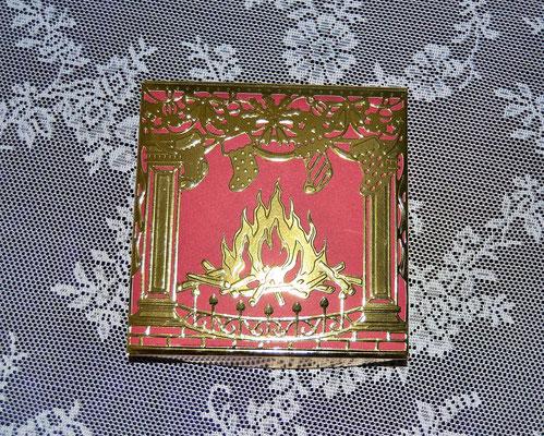 """Weihnachtsbox """"Kaminfeuer"""""""
