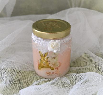 Dekoglas für kleine Ostergeschenke