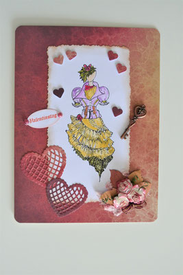 Karten zum Valentinstag