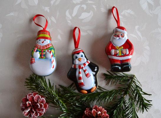 Weihnachtsdosen zum Hägen