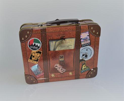 Reisekoffer Dose