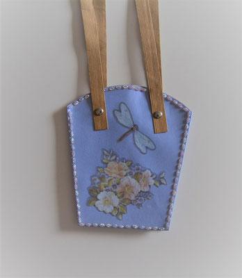 Pflanzen-Tasche mittel violett