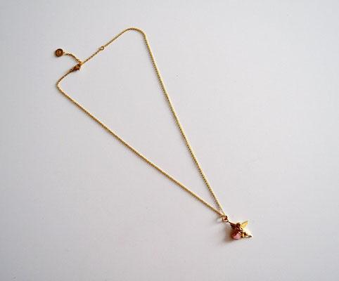 Anker-Halskette, Anhänger Engel mit Herz
