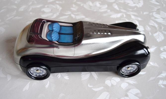 Cabriolet schwarz/silber