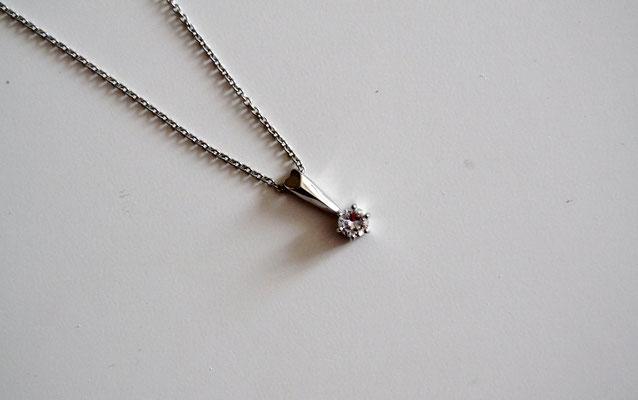 Anker-Halskette mit Anhänger