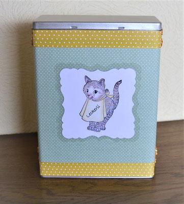 Vorratsdosen für Katzenfutter