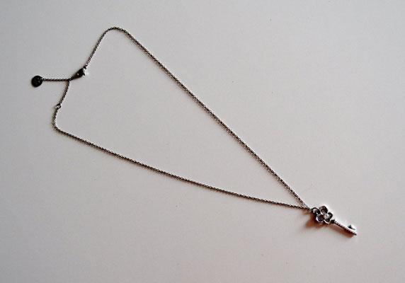 Anker-Halskette mit Anhänger Schlüssel