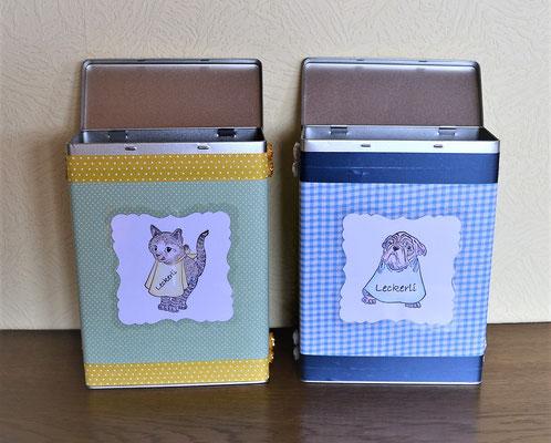 Futterdose für Hunde- oder Katzenfutter