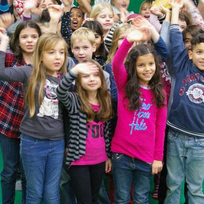 Kinderrechte Filmfestival an der Grundschule Tempelhofer Feld