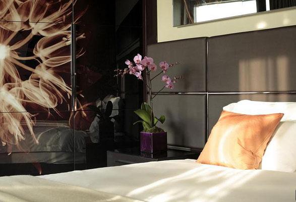 パークプラザホテル・ベッドルーム
