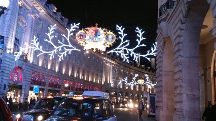 ロンドン・クリスマス・デコレーション3