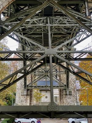 kornausbrücke von unten