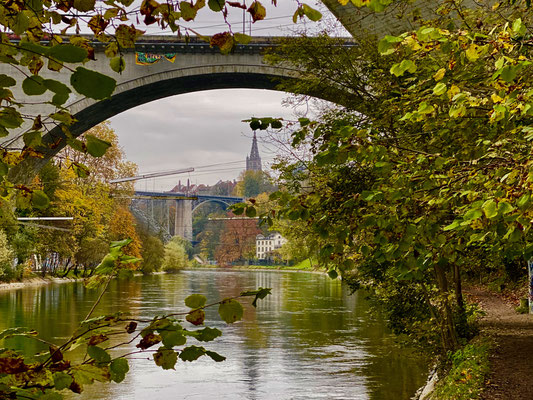 durchblick kornhausbrücke auf münster