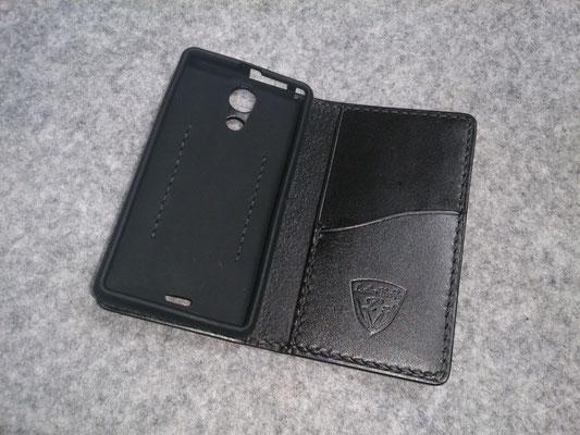 XperiaA SO-04E 手帳型ケース シリコンケース仕様