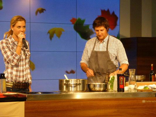 Kochshow Westside Bern Brünnen mit Marco Plaen