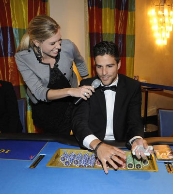 Casino Bern Ladies Event mit Mr. Schweiz Luca Ruch