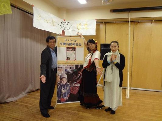 東京阿佐ヶ谷会場でカタプタリ監督の伊藤敏明先生と