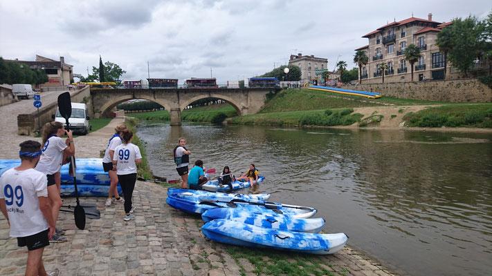 Location canoe kayak