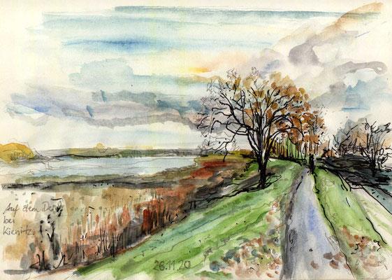Ende November an der Oder