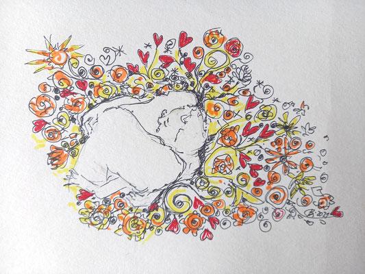 Sehnsucht, im Garten der Liebe