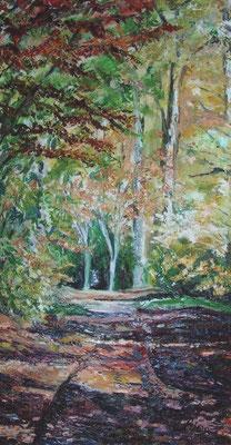 Herbst in Bad Pyrmont - Öl - 70x120