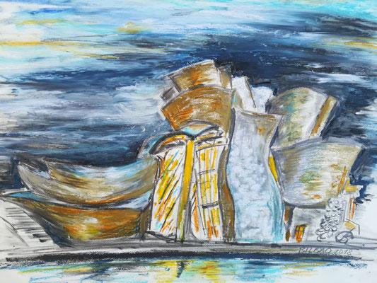 Guggenheim von Frank O Gehry, Ülkreide