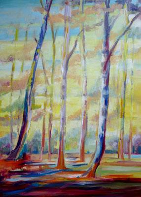 Frühlingserwachen, Öl auf Leinwand, 50 x 70 cm