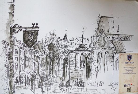 Riga, Skizze