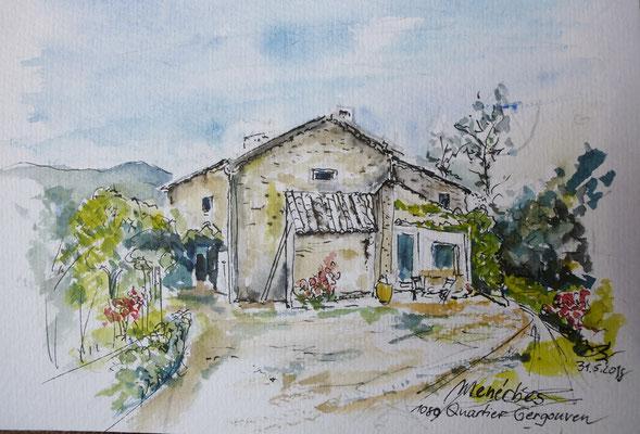 Ferienhaus in Menerbes