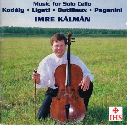 "Photo: Imre Kálmán CD ""Music for Cello solo"""