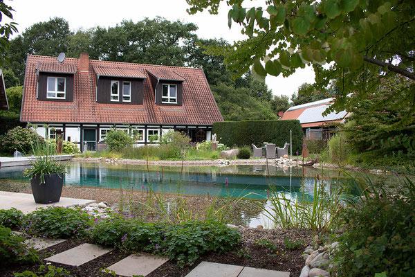 Schaugarten pools-ponds. Besichtigung möglich.
